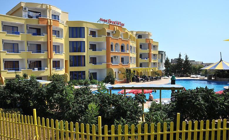 The SVETI VLAS Hotel in Sveti Vlas
