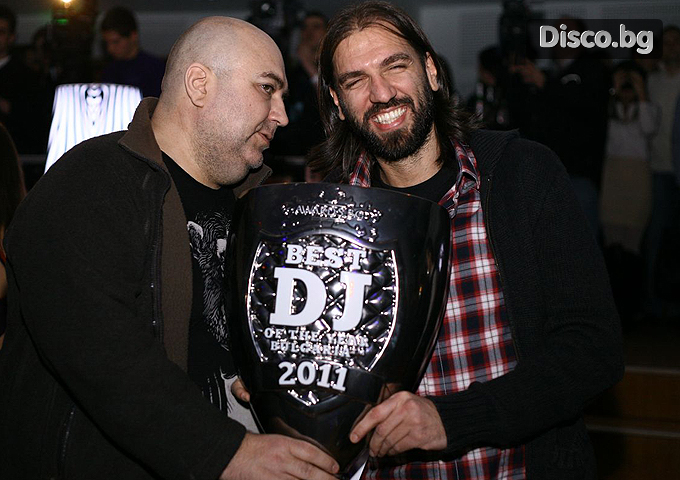 Best DJ & Best CLUB of The Year BULGARIA 2011